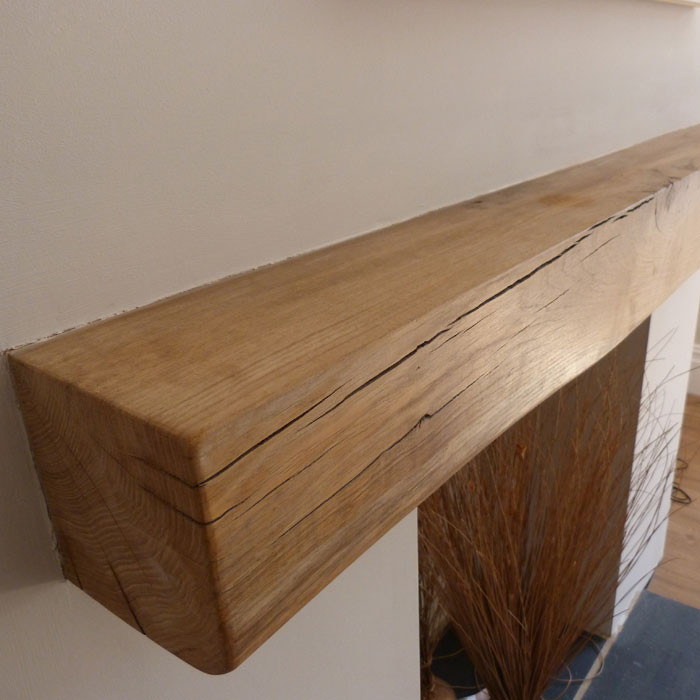 Fireplace Chambers, Hearths and Beams