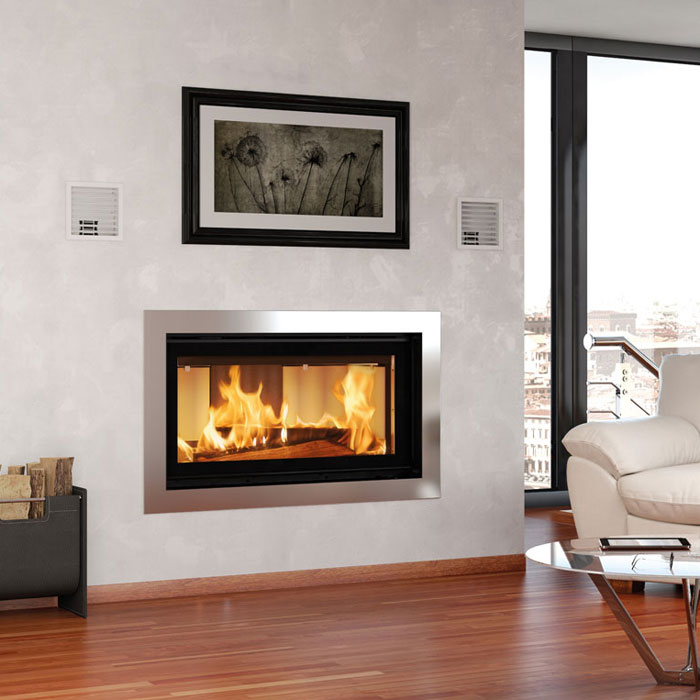 La Nordica Wood Fireplace Inserts