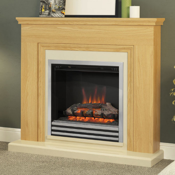 Wood-Effect Electric Fireplaces